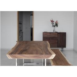 Mesa de madera natural