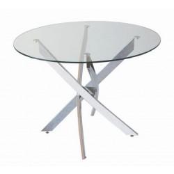 mesa pata cromo